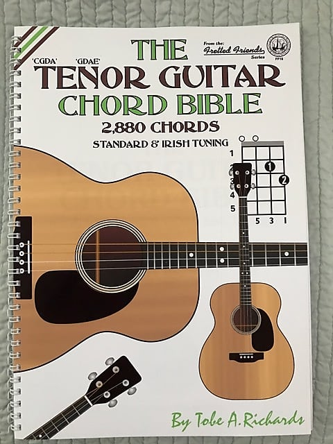 Music Book-TENOR GUITAR REFERENCE | Reverb