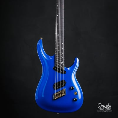 Ormsby SX GTR 6 string Multiscale 10th Anniversary 2019 Forget Me Not Blue Metallic Gloss for sale