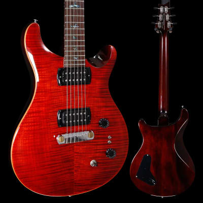 PRS Paul Reed Smith SE Paul's Guitar w/ Bag, Fire Red 864 6lbs 10.8oz for sale