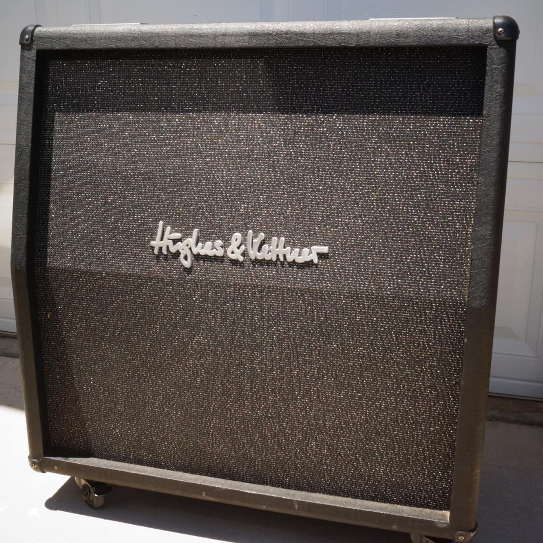 hughes kettner sc412a black 4x12 4 12 8 ohm guitar reverb. Black Bedroom Furniture Sets. Home Design Ideas