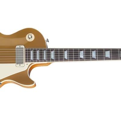 Gibson 2015 Les Paul Deluxe Metallic Goldtop Electric Guitar