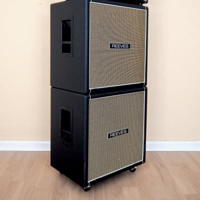 Reeves Custom 225 Boutique Tube Bass Amp Stack w/ 4x10 & 1x15 Cabinets, KT88 for sale
