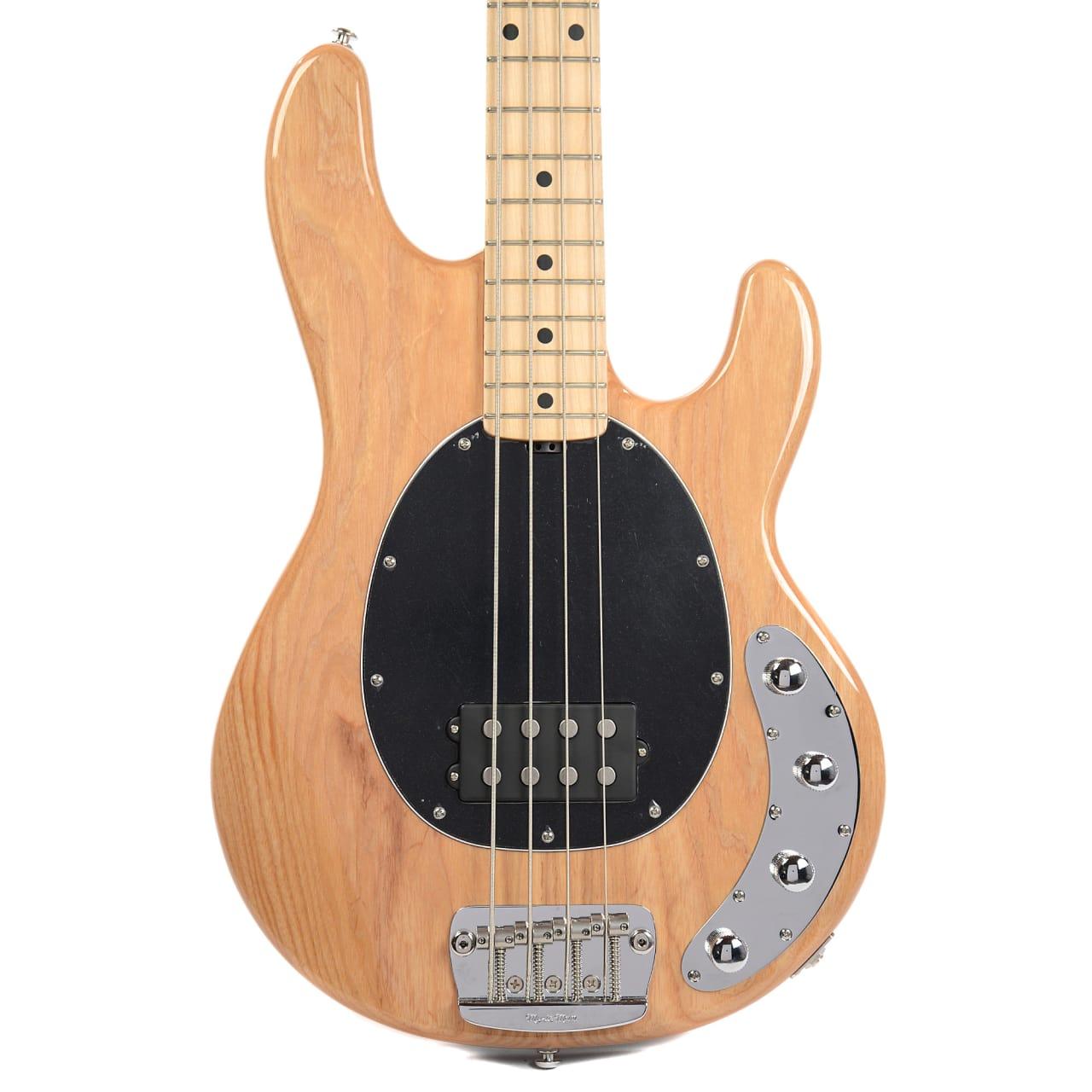 Stingray Bass Pickguard : music man stingray 4 bass mn natural w black pickguard reverb ~ Vivirlamusica.com Haus und Dekorationen