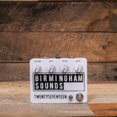 Birmingham Sounds TWENTYSEVENTEEN 2020 White