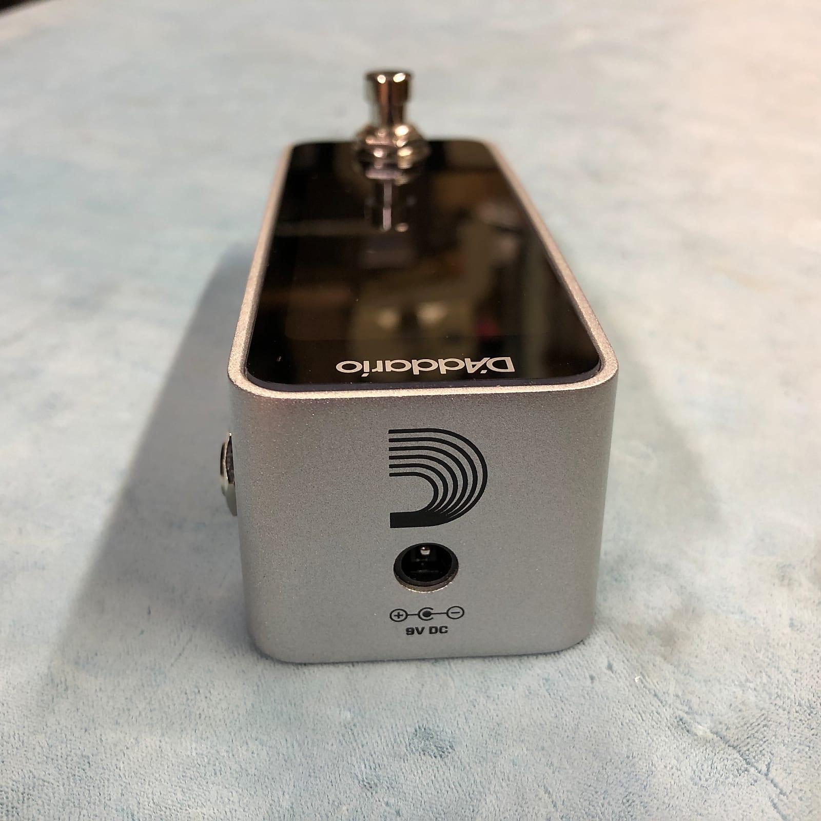 D'Addario PW-CT-20 Chromatic Pedal Tuner w/ Box