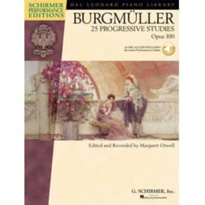 Burgmüller: 25 Progressive Pieces, Op. 100 (w/ Audio Access)