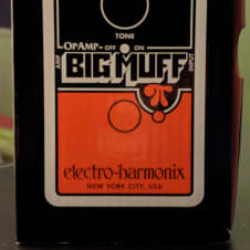Electro-Harmonix Op-amp Big Muff Pi 2018 Orange & Black