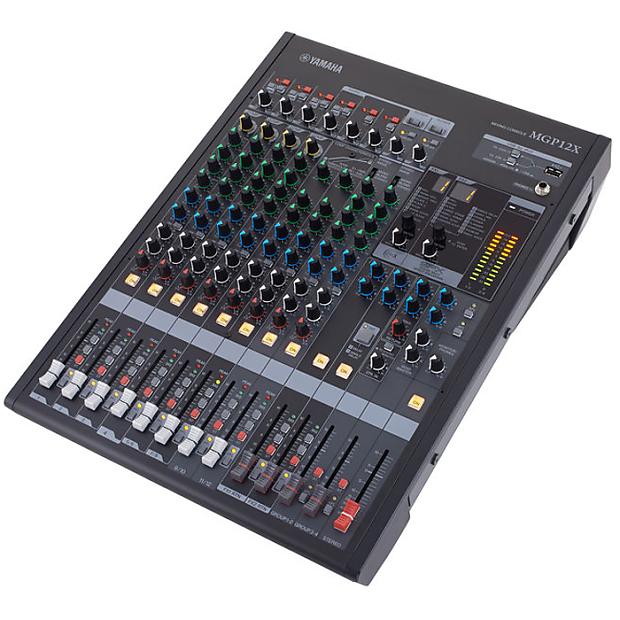 yamaha mgp12x mixing console analog digital hybrid full reverb. Black Bedroom Furniture Sets. Home Design Ideas