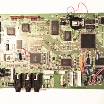 ROLAND XP-50 Original Main Mother Board. Not Working.  Fixer.  As-Is for Parts or Repair...
