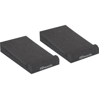 Gator Cases Frameworks Studio Monitor Isolation Pads (Pair, Small)
