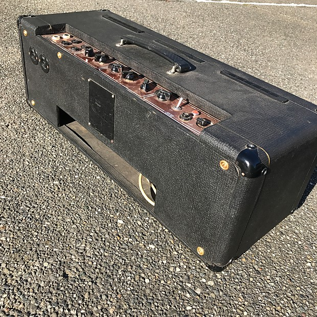 1964 vox ac30 t ac 30 treble head super twin candy red panel reverb. Black Bedroom Furniture Sets. Home Design Ideas