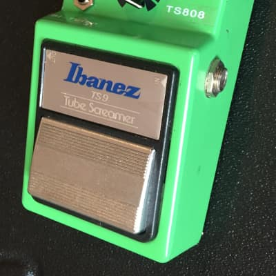 Ibanez TS9 Tube Screamer TS808 Bi-Turbo Mod Symm/Asymmetrical Clipping early chip  NEC c4558c Japan