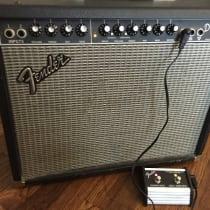 Fender Deluxe 90 2000s Blackface image