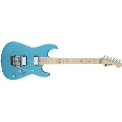 Charvel Pro-Mod San Dimas Style 1 HH FR M, Matte Blue Frost for sale