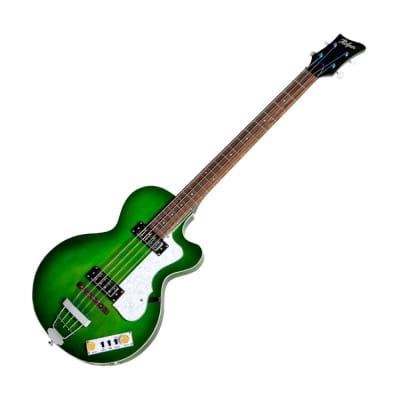Hofner HI-CB-PE-GR Ignition Pro Club Bass, Green Burst for sale