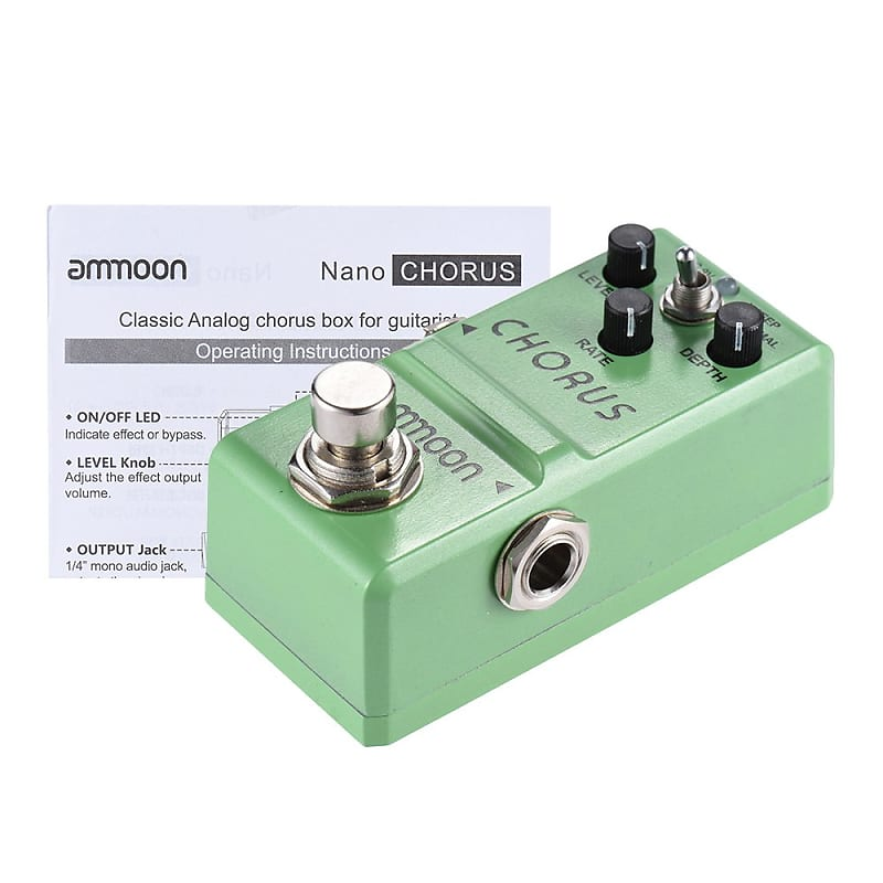 nano series guitar effect pedal analog chorus true bypass reverb. Black Bedroom Furniture Sets. Home Design Ideas