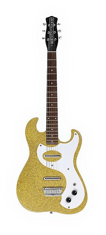 Danelectro Dano '63 Gold Metal Flake