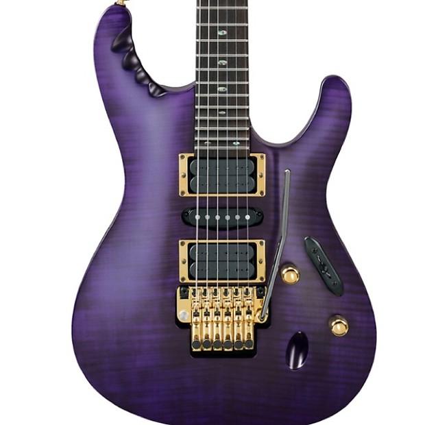 Ibanez Herman Li EGEN18 Signature Trans Violet Flat on