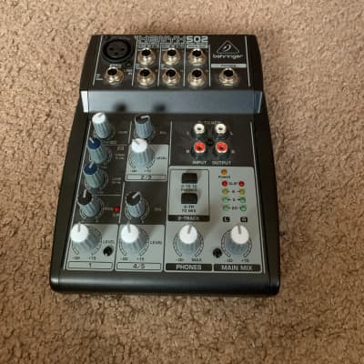 Behringer 302 usb mixer + Box + USB cable + Power Supply