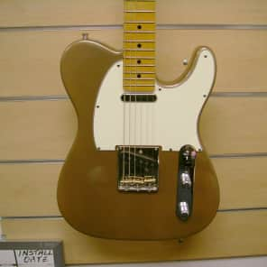 Warmoth Telecaster w/ fatback neck and truss lock,
