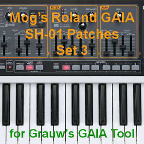 Mog's Roland GAIA Patches - Set 3