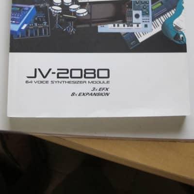Roland Roland JV-2080 Bedienungsanleitung