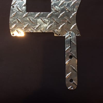 Custom Treadplate Telecaster Pickguard Metal for sale