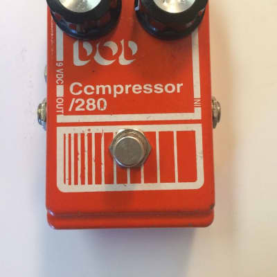 DOD Digitech 280 Compressor Rare 90s Vintage Reissue Guitar Effect Pedal for sale