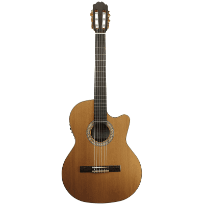Kremona S63CW Performer Series Sofia Classical Guitar with Electronics Natural