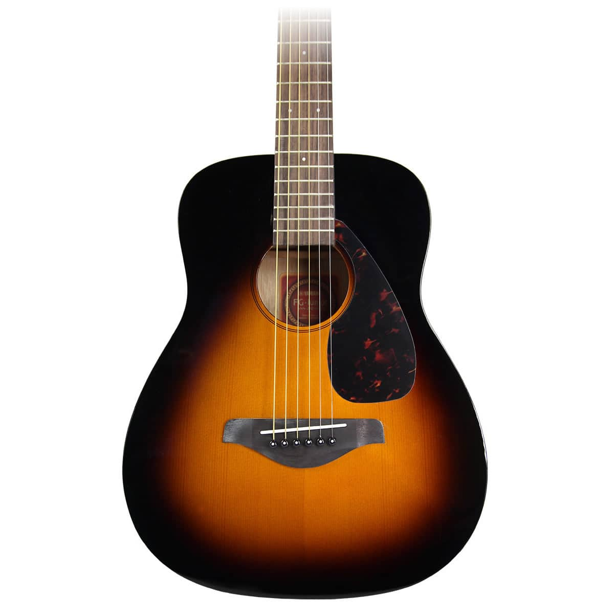 Yamaha jr2 3 4 size acoustic guitar sunburst reverb for Yamaha jr2 3 4