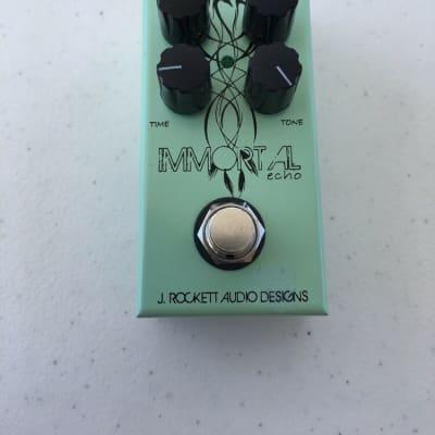 J. Rockett Audio Designs Immortal Echo Delay Mini Compact Guitar Effect Pedal for sale