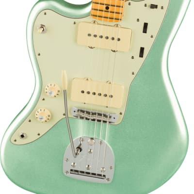 Fender American Professional II Jazzmaster Left-handed - Mystic Surf Green for sale