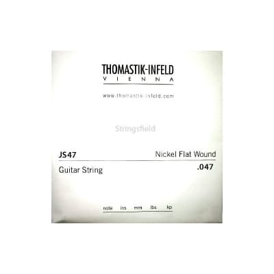 Thomastik Infeld JS47 Nickel Flatwound 047 Single String 047