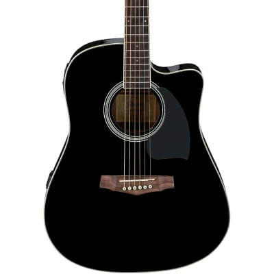 Ibanez PF15ECEBK Performance Spruce / Okoume Dreadnought with Cutaway