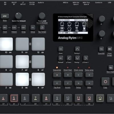 Elektron Analog Rytm MKII Black 8-Voice Drum Machine