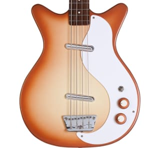 Danelectro '59 DC Long Scale Bass Copperburst for sale