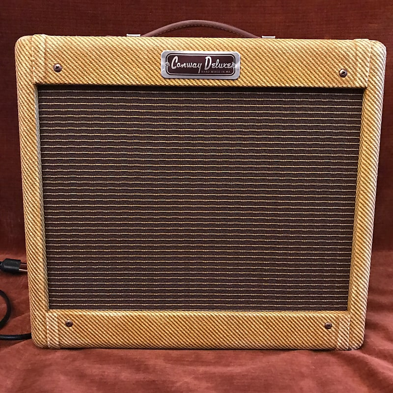 Conway Deluxe 5F1 Champ Clone Handwired 5W 1x8