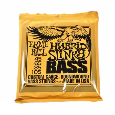 Ernie Ball Hybrid Slinky Bass Strings Roundwound Set 45-105