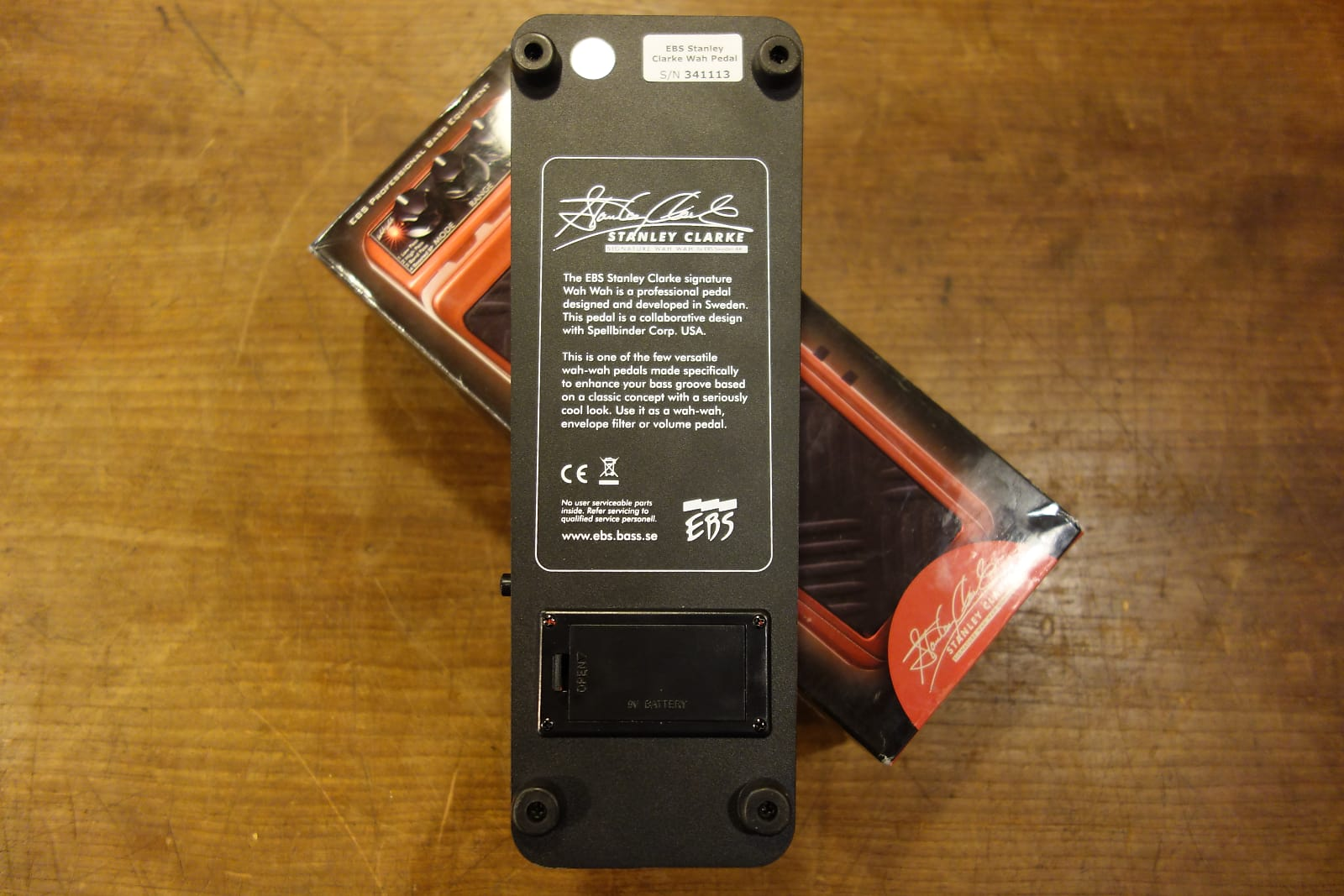 Ebs Stanley Clarke Signature Wah Upgrade To Your Pedal