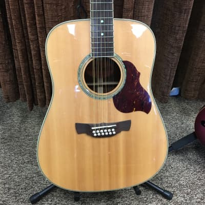 Crafter D8-12EQ/N Natural Acoustic/Electric 12 String Solid Top for sale