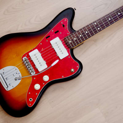 1996 Fender Jazzmaster '62 Vintage Reissue Offset Electric Guitar Sunburst Japan for sale