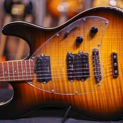 Music Man Steve Morse Y2D Tobacco Sn G61746 for sale