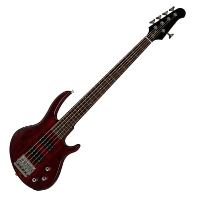 Gibson EB Bass 5 Strings 2019 Wine Red Satin Swamp Ash Maple Rosewood for sale