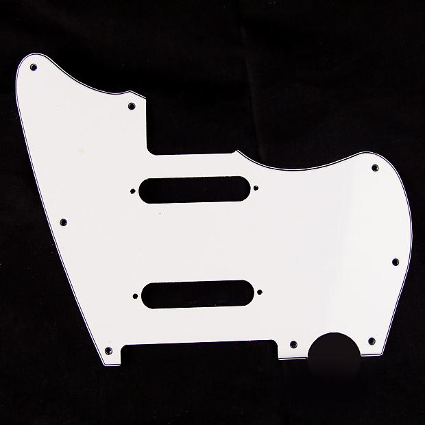 jazzcaster telemaster hybrid style guitar pickguard 2 reverb. Black Bedroom Furniture Sets. Home Design Ideas