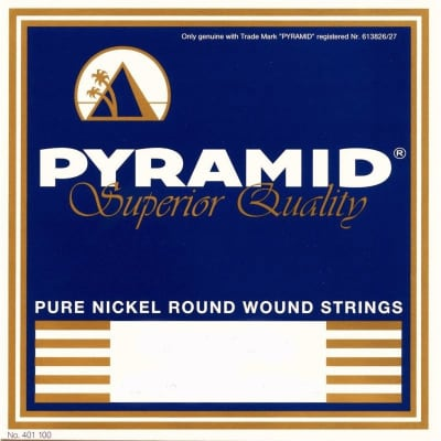Pyramid Electric Pure Nickel Round Wound 12 Strings Light 09-42