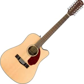 Fender CC-140SCE Solid Spruce/Rosewood Cutaway Concert w/ Electronics Natural