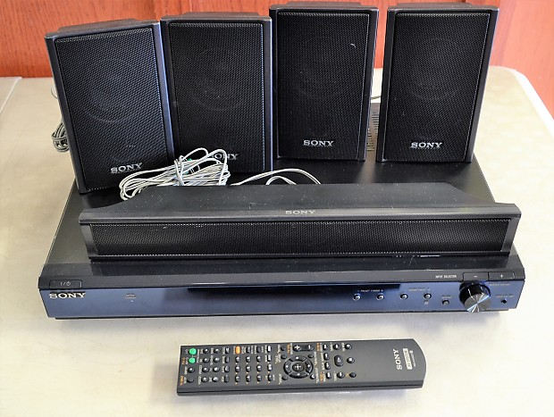 Sony STR-KS2300 Blu-Ray/DVD Home Theater Surround Sound System