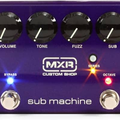 MXR Sub Machine Octave Fuzz Guitar Pedal image