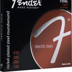 Fender 7250 Nickel Plated Steel Bass Strings