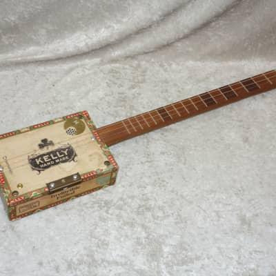 Three Angry Owls Cigar Box Acoustic Guitar
